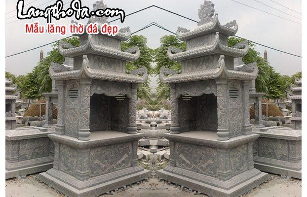 Lăng thờ đá 42