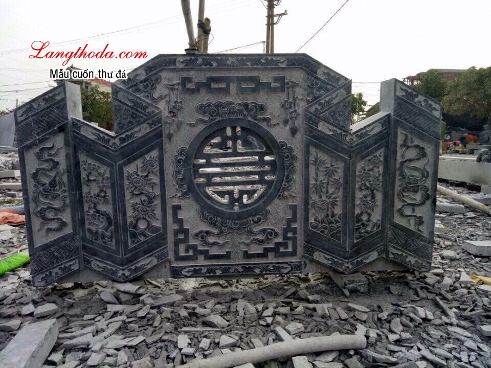 Bình Phong đá đẹp