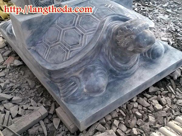Đầu rùa bằng đá