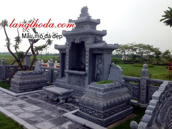 Lăng mộ bằng đá đẹp