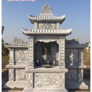lăng mộ bằng đá xanh
