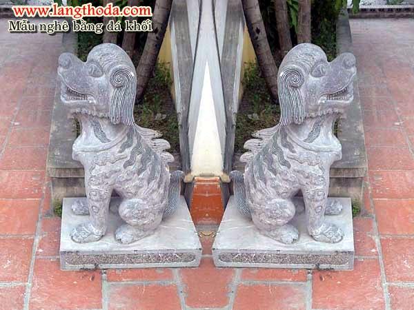 Nghê bằng đá chế tác tại Ninh Bình